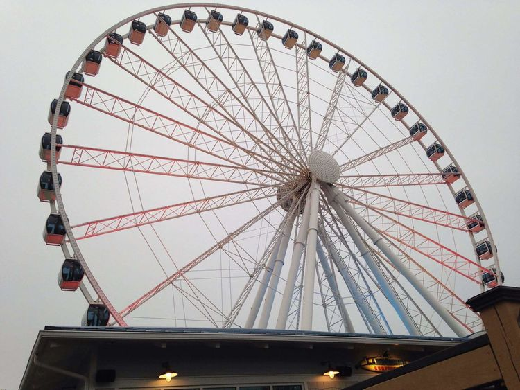 Myrtle Beach SC Beach Faris Wheel Ride Amusement Ride South Carolina Myrtle Beach Fun Amusement  Park Beach Life