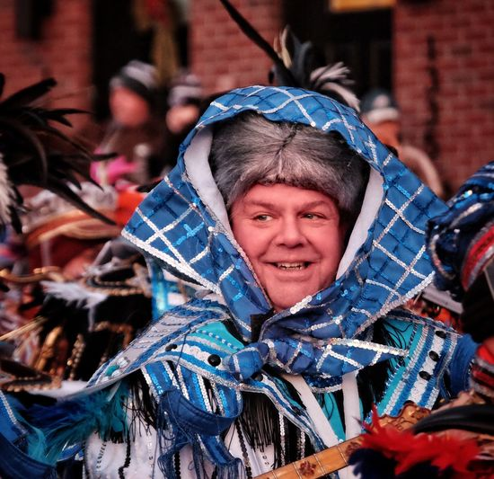 Phillylove ❤️ MummersParade2018 Looking At Camera Portrait Real People One Person Outdoors Happiness Smiling Adult One Man Only