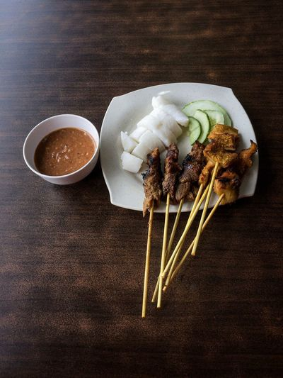 Sate Kajang Haji Samuri IPhoneography IPhone Iphone5s IPhone Photography Kajang Satay Malaysian Food Food And Drink Food Asian Food Indoors  Ready-to-eat The Foodie - 2019 EyeEm Awards The Mobile Photographer - 2019 EyeEm Awards
