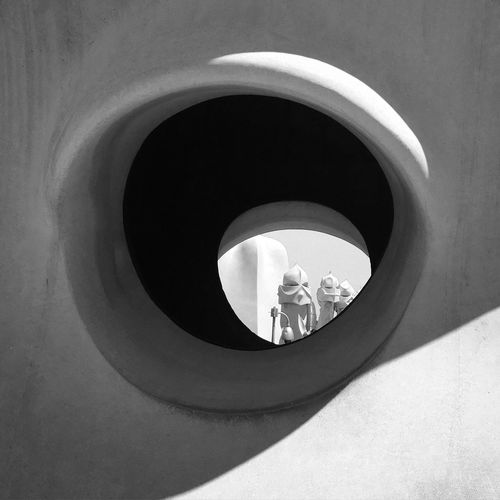 Indoors  Built Structure Architecture Tower Modern Steps Circle Building Story Tall - High City Life Skyscraper Back Lit Gaudi Barcelona Casa Mila Barcelona, Spain Roof Modern Art Modern Architecture ArtWork Architecture Architecture_collection Architectural Detail Family