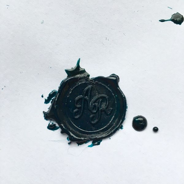 Part 2 Ar Green Color Sealing Wax Wax Seal Letters Initials R A Point Of View EyeEm Selects EyeEm Gallery EyeEm Best Shots EyeEm No People Close-up