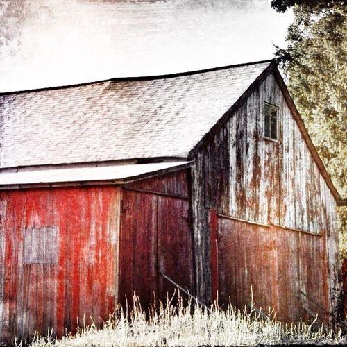 Red Barn Love Digital Painting Ruralbeauty EyeEm Best Shots