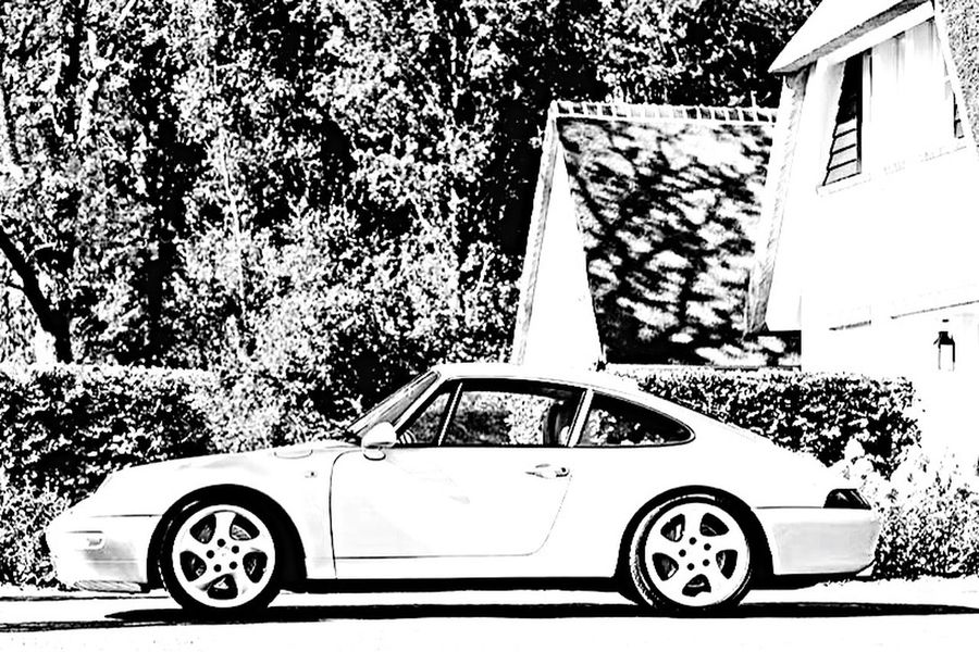 Vintage Porsche Carrera 4S Porsche 911 Carrera 4S 993 993C4S