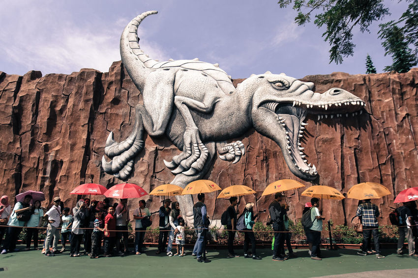 Dinosour INDONESIA Outdoors People Photography Quality Time Tourism Vacatop People Together Showcase July