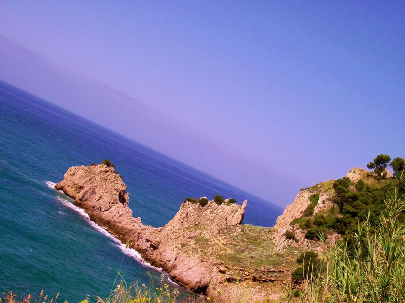 Promontorio Beauty In Nature Blue Coastal Feature Day Daydreaming Gaeta, Italy Italy❤️ Mare ❤ Nature No People Ocean View Outdoors Promontorio Scenics Sky Tranquil Scene Tranquility Traveling Home For The Holidays MUR On EyeEm
