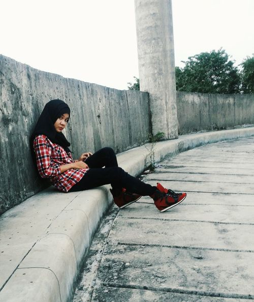 Parking Me Today Ootd Jakarta Unj Nature Sky Clouds Clouds And Sky Air