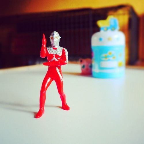And pose! Ultraman Actionfigure Japan Japantoys bandai toy toyphotography toys jigglypuff pokemon photobomb justforfun