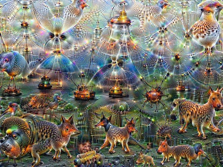 Abstract Animal Themes Animal Wildlife Bird Break The Mold Colorful Dream Dreamscape EyeEmNewHere Illuminated Large Group Of Animals Manipulated No People
