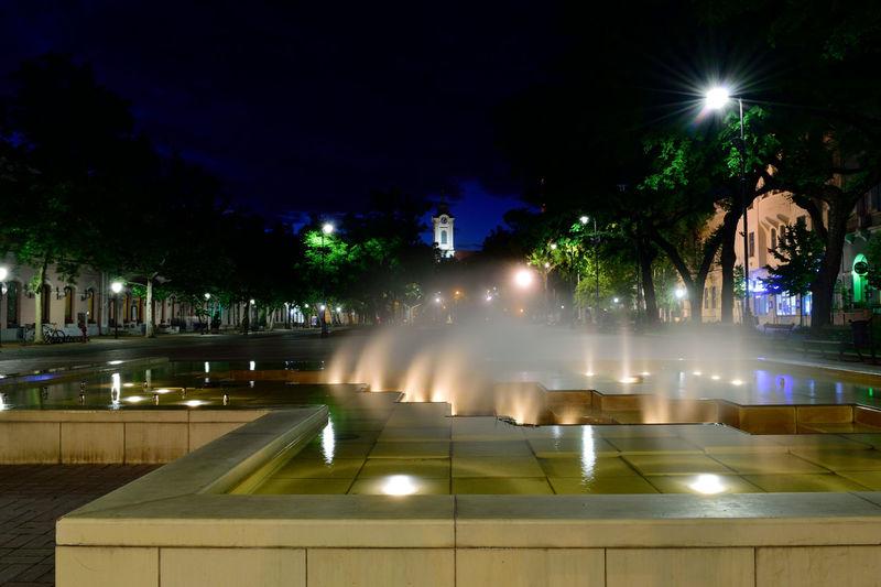 City City Life City Street Cityscape Light Night Nikon Nikon D3300 Nikonphotography Outdoors Street Light Cities At Night Szent István Tér Békéscsaba Békésmegye Hungary