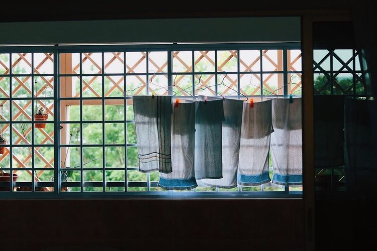 House view Window Multi Colored Indoors  No People Variation Built Structure Day Hanging Architecture Close-up VSCO The Purist (no Edit, No Filter) Focus On Foreground EyeEmNewHere Singapore EyeEm Selects Sommergefühle Towel