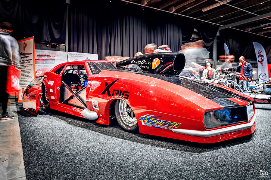Indoors  Day People Wheels Indoors  Show Oslo Norway Dragster Fastcar Car Wheel Red Speed Exrtreme