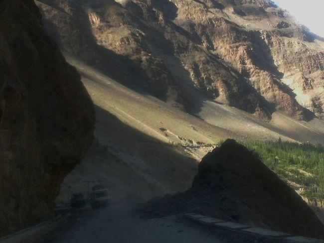 One of most dangerous roads of the world. Skardu KKH Road. Living Dangerously Thriller Drive Beauty Of Pakistan Pakistan