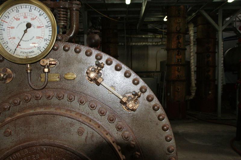 Madeira funchal technic Rum Factory Boiler Drum Pressure Tank