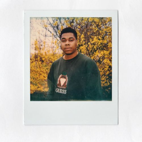 Dave - 2018 Polaroid Portrait Photograph Looking At Camera Autumn Men Frame Picture Frame Close-up
