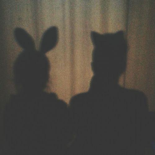 Alice in wonderland. White Rabbit Cheshire Cat