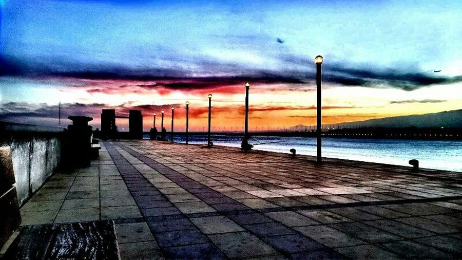 Landscape Las Palmas De Gran Canaria Landscape_Collection Sunset Arinaga