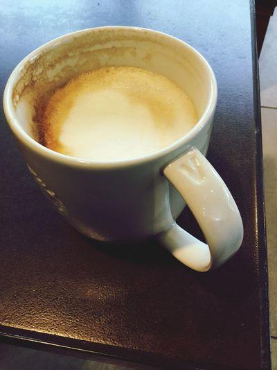 Cappuccino at Starbucks