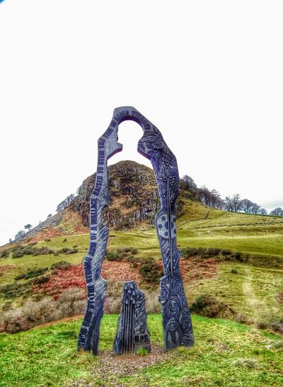 Monument to William Wallace and the battle that he fought here in 1296. Loudoun Hill is a historic spot where more than one battle was fought against English armies. Hill Walking Scotland Countryside Historical Sights
