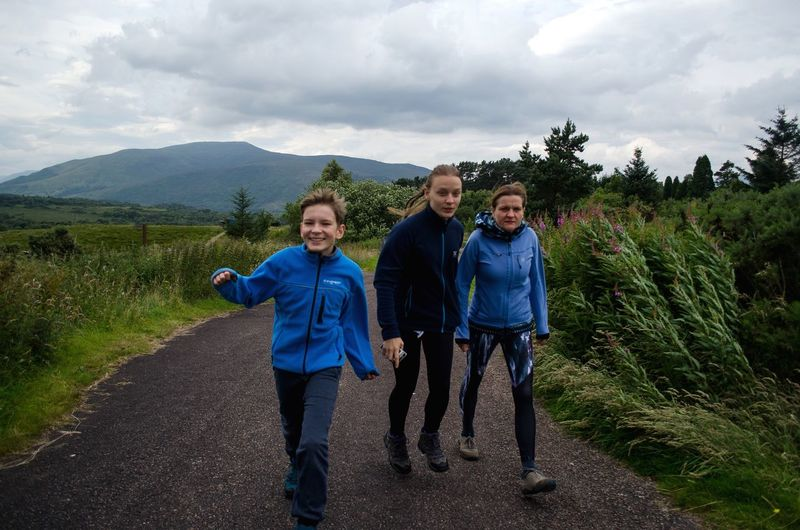 always happy in nature Siblings Family Scotland Lifestyles Full Length Looking At Camera Nature People Females Women Bonding Portrait Child
