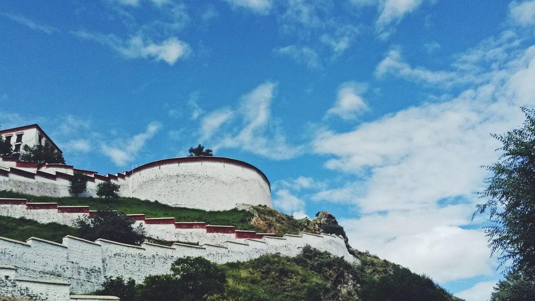 布达拉宫 Architecture No People Nature