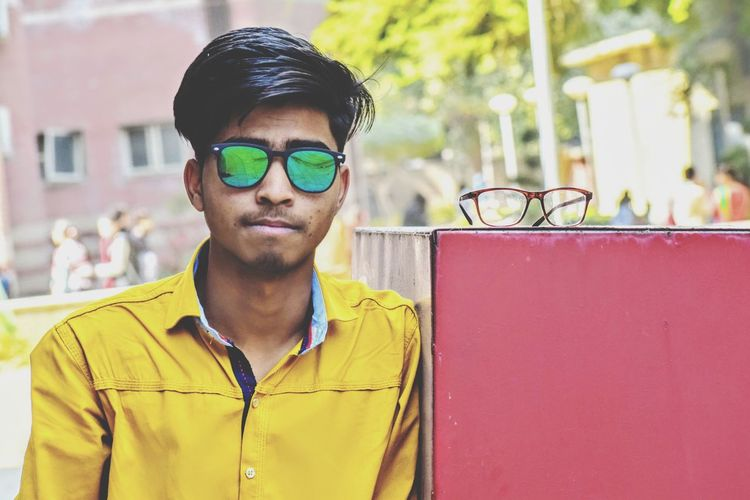 Suhelsiddiqui Casual Clothing Outdoors Men Me Boy Swag Style Cool Day Close-up Looking At Camera Glasses Posing Reading Glasses Sunglasses Asian  Blooming This Is Masculinity