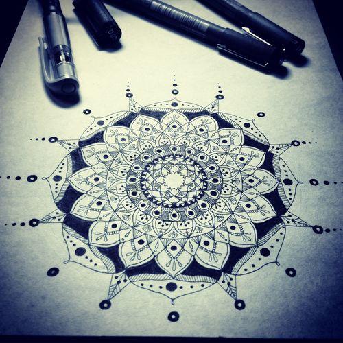 Mandala Mandalas 曼荼羅 マンダラ Art My Art My Drowing