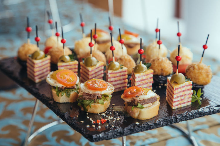 Catering Food - Food And Drink Cake Catering Choice Day Dessert Food Food And Drink Freshness Glass Indoors  Indulgence No People Ready-to-eat Selective Focus Side By Side Snack Still Life Sweet Sweet Food Table Temptation Tray Unhealthy Eating Variation