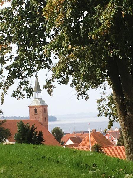 Ebeltoft Kirke Church No People Outdoors Beauty Is Everywhere  Ocean View