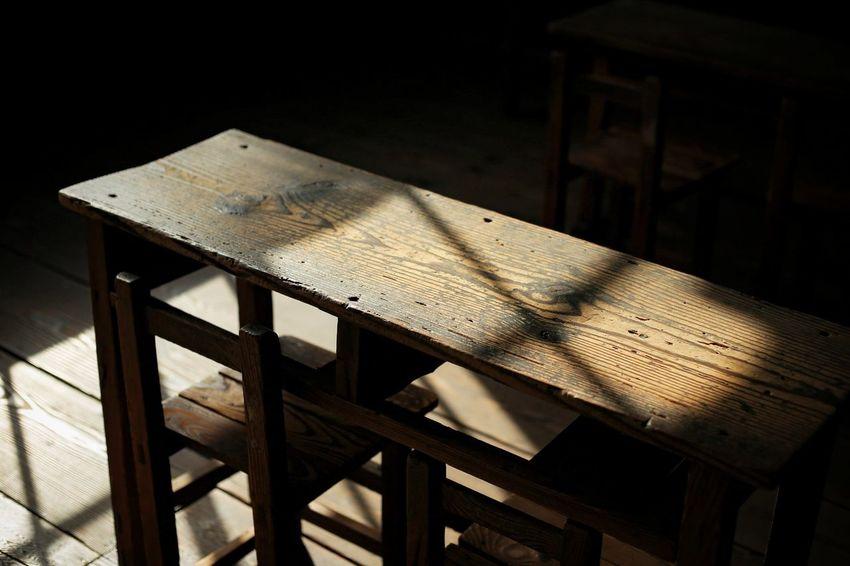 Window Window Light School Table Old Retro EyeEm Selects Wood - Material Prison Close-up