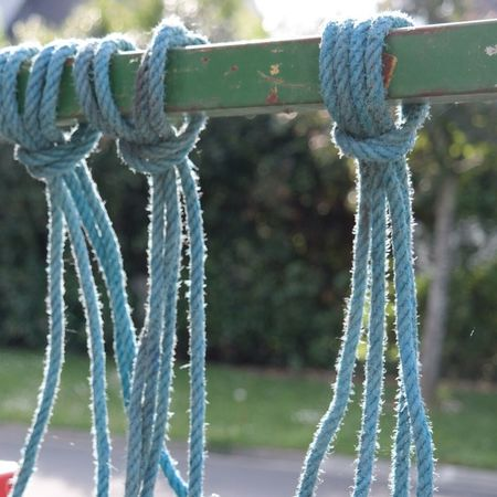 Rope Blue Hello World Enjoying Life