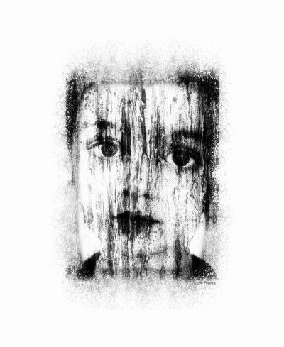 Care Palestine Refugee Alone... Blackandwhite Boy Close-up Contemplation Digital Composite Enlightened Hairstyle Headshot Human Face Jasonpearce Looking Looking At Camera One Person Portrait Prison Punkchild Sadness Textured Effect War White Background Wideeyed