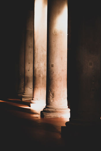 Architecture Architectural Column Architectural Detail Building Built Structure Colonnade Column Columns Columns And Pillars Columns And Stone History Illuminated Magic Moments Mistic Place Pistoia Ways Of Seeing This Is Natural Beauty