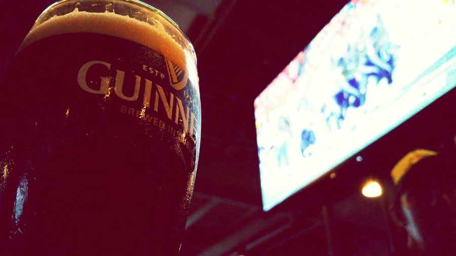 Guinness Saturday Night