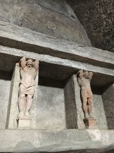Ancient Ancient Roman Italy My Summer Vacation Pompeii  Roman Bath Sculpture Tourism