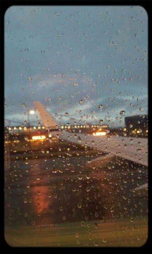 Gotta love photos From An Airplane Window Morning Travel Rain