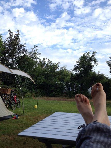 Holiday POV Good Morning Camping Summer