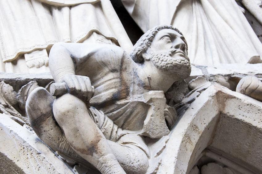 Notre Dame De Paris Sculpture Religion Cathedral
