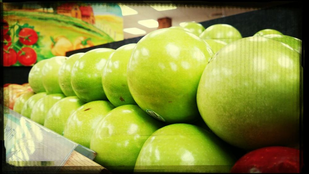 mother nature brings you the apple . maybe you should enjoy eating healthy with #tymccl at traderjoes