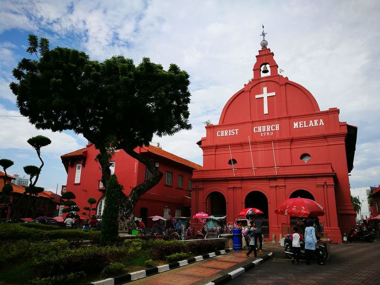Architecture Place Of Worship Travel Destinations Spirituality Local Landmark Tourism Malaccaheritagecity MalaccaLove Huawei P9 Leica Huawei P9 Plus Travel Photography Stadhuys Huaweiphotography Travel Photography