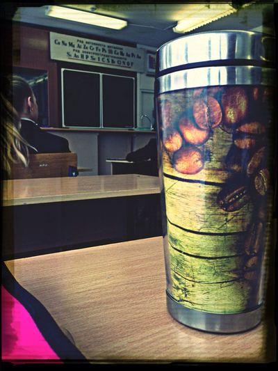 Все учатся, а я пью кофе..)