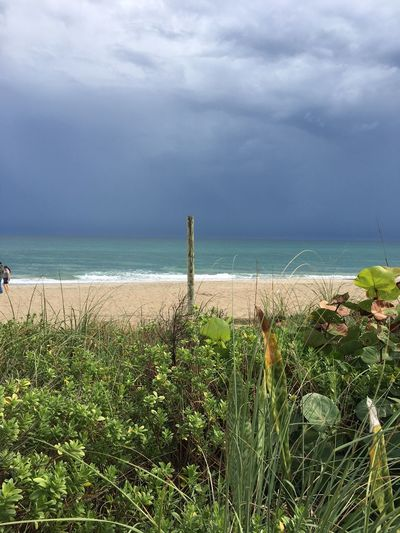 Ocean Aqua Marine Water Storm Stormy Sky Ocean No People Lake Worth Florida Beach Sand & Sea No People Aqua Water