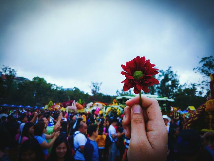 Flower Celebration Outdoors Crowd Day People EyeEm Carnival Crowds And Details PanagbengaFestival Panagbenga Flowers Multi Colored Performance Flower Festival 2017 Flower Festival The Street Photographer - 2017 EyeEm Awards