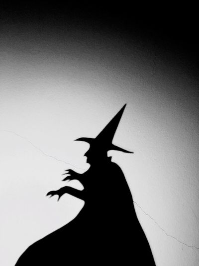 Wicked Wicked Witch Witch Witchcraft  Puppets Shadow Shadows & Lights Shadow Puppets Puppet Shadow