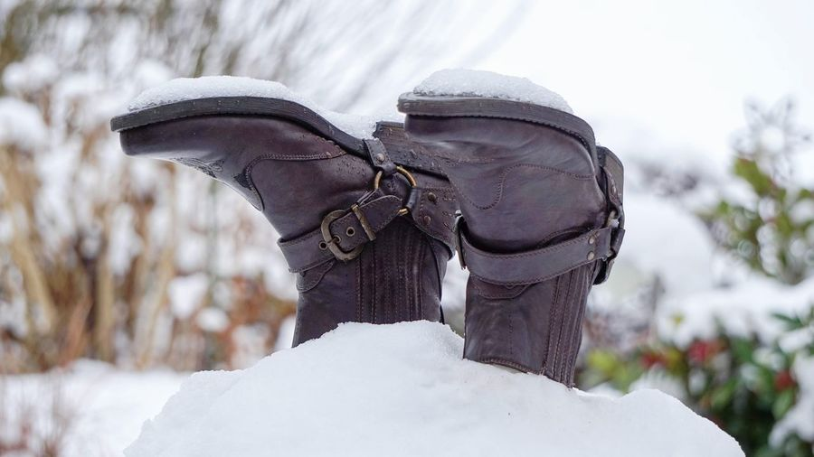 Hello World Schnee Ist Doch Schön! Old Shoes... Check This Out EyeEm Best Shots - Landscape Snow Day ❄ EyeEm Best Shots Outdoors No People Close-up Its Cold Outside EyeEm Gallery Fun Weather TheWeek On EyEem Landscape Photography Wintertime Taking Photos Schneemann