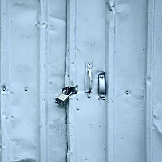 The blue door texture