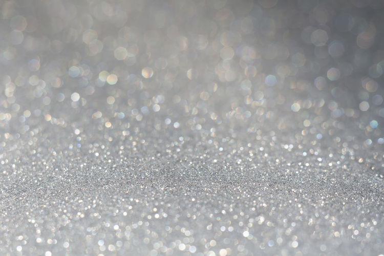 Abstract Abstract Backgrounds Backgrounds Bright Brightly Lit Close-up Cold Temperature Defocused Full Frame Glitter Lens Flare Light - Natural Phenomenon Luxury Nature No People Pattern Selective Focus Shiny Silver Colored Snow White Color Winter