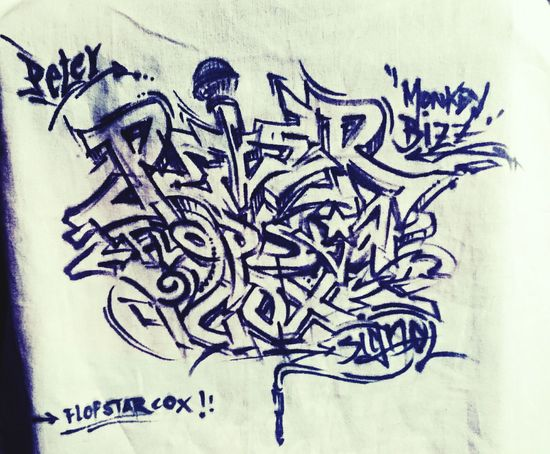Peter FlopStar Cox Bremen Me Skate Art Graffitti Hipster That's Me Beauty Drumandbass Hip Hop