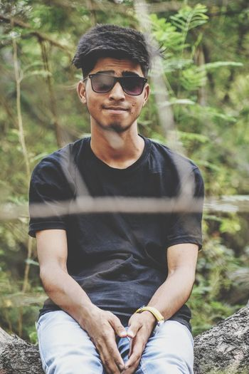 My Brother.... photographer📷📷 follow him on eyeem @suhelsiddiqui & IG @suhelsiddiqi Suhelsiddiqui EyeEmNewHere EyeEm Nature Lover Tree Men Portrait Sitting Eyeglasses  Forest Water Muscular Build Smiling Mid Adult Hiker Human Muscle The Fashion Photographer - 2018 EyeEm Awards The Portraitist - 2018 EyeEm Awards Creative Space Summer In The City My Best Photo