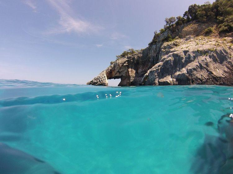 Enjoying Life Sun Summer Gopro Starting A Trip Amazing Sea Water Sardinia Sardiniacoasttocoast
