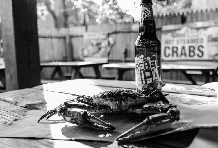 Maryland Crabs Oldbay Beerporn Beer BlueCrabs f Food Dinner Beachphotography OceanCityMaryland CrabBag Blackandwhite